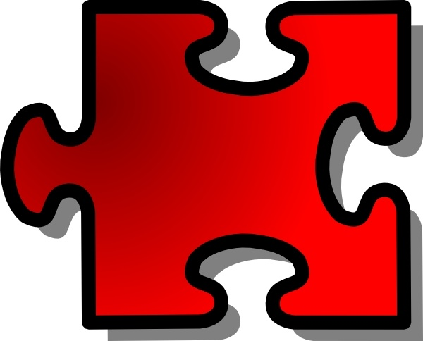 600x484 Jigsaw Puzzle Piece Clip Art Free Vector In Open Office Drawing