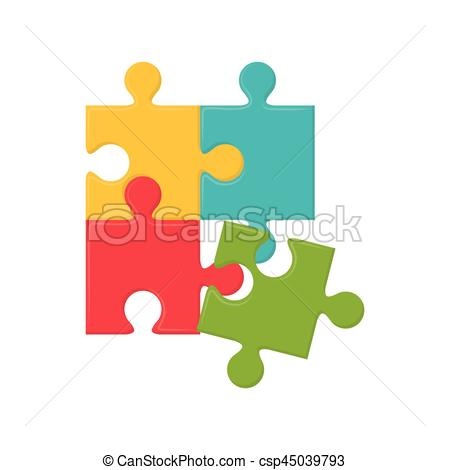 450x470 Jigsaw Puzzle Piece Icon Vector Illustration Graphic Design Eps
