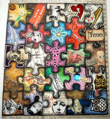 461x500 40 Decoupage Ideas For Simple Projects Decoupage, Art Pieces