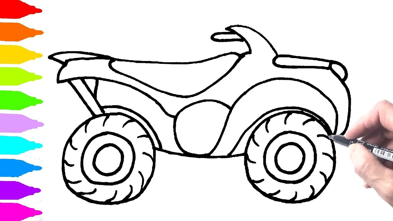 Quad Drawing at GetDrawings   Free download