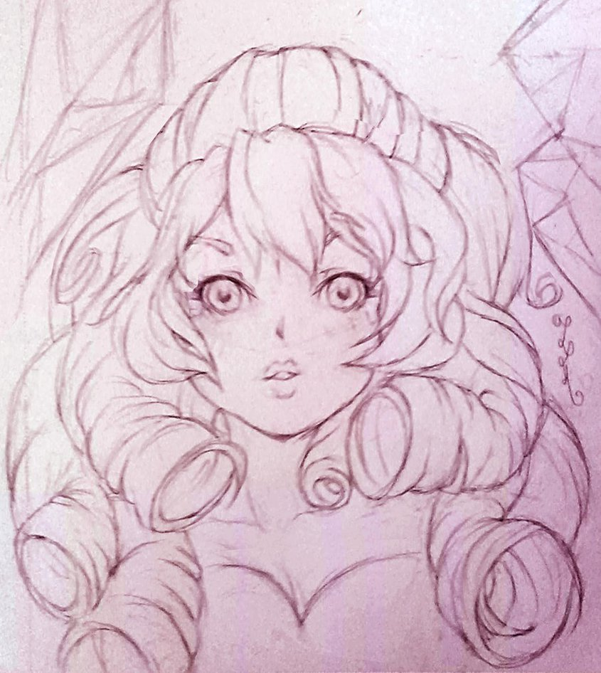845x946 Rose Quartz Sketch By Yangspirit