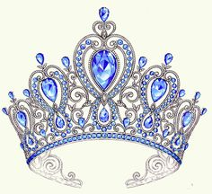 236x216 Elegant Hand Drawn Queen Crown With Lettering. Graphic Black