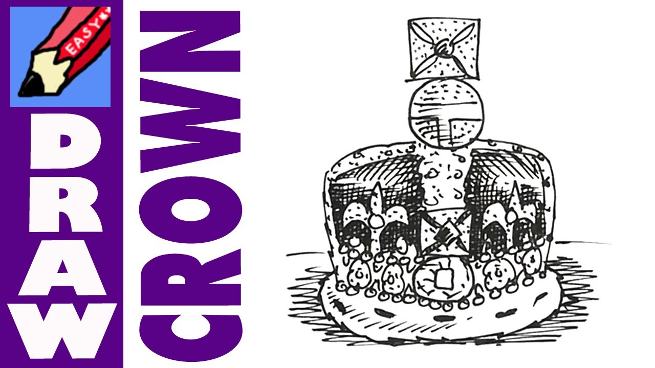 1280x720 How To Draw The Crown