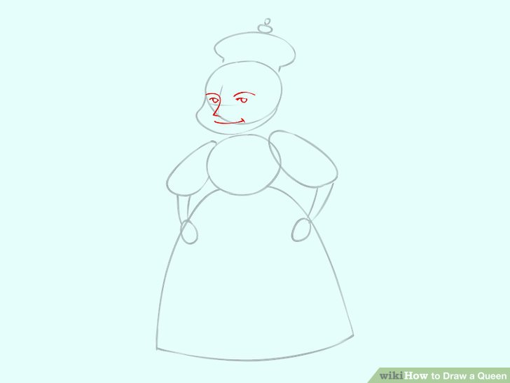 728x546 How To Draw A Queen (With Pictures)