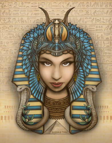 Queen Hatshepsut Drawing at GetDrawings.com | Free for ...