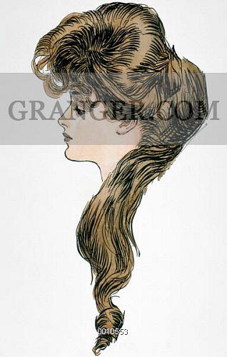 318x500 Image Of Gibson Girl, 1903.