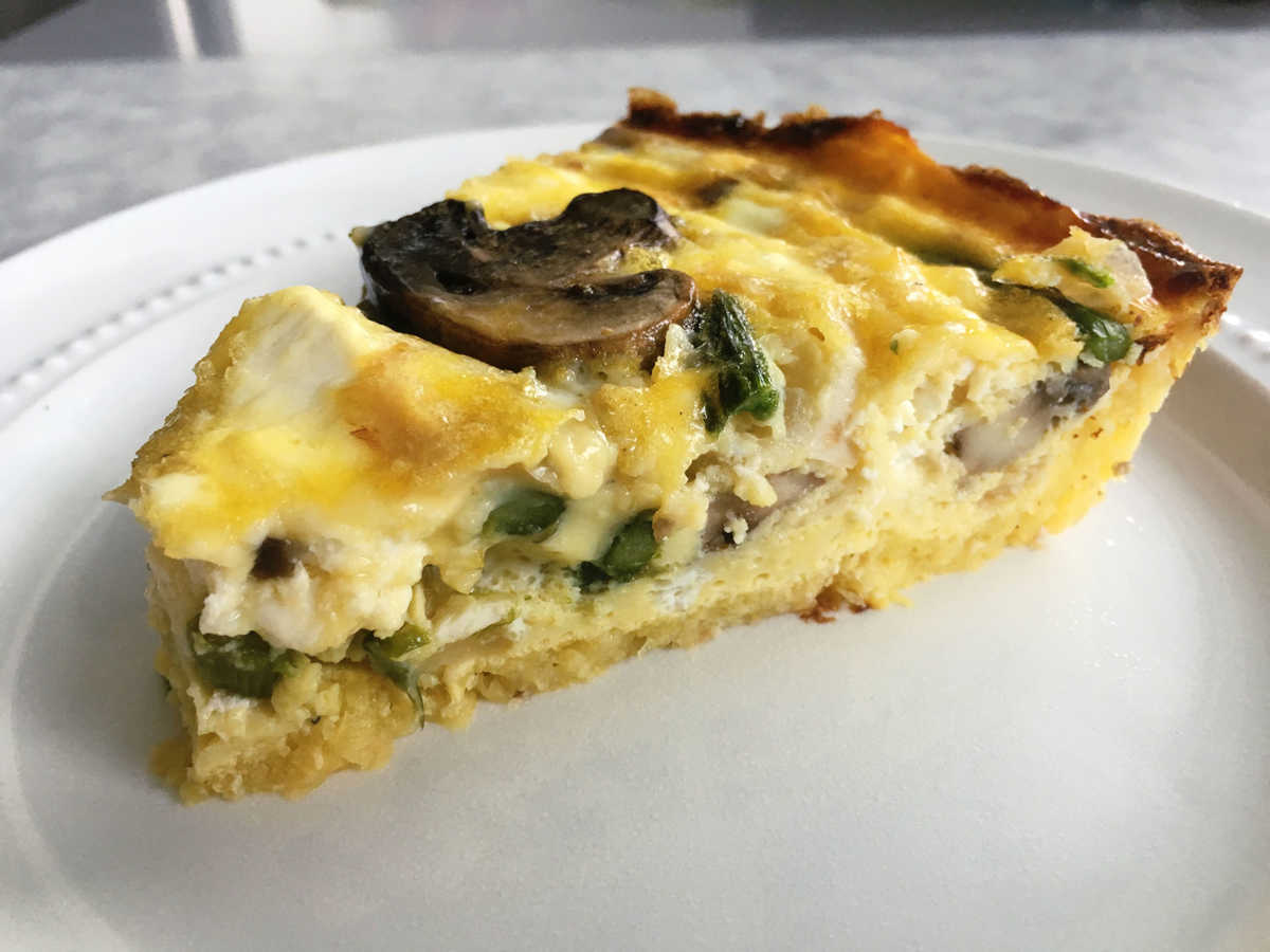 1200x900 5 Alternative Quiche Crusts That Are Better (And Healthier) Than