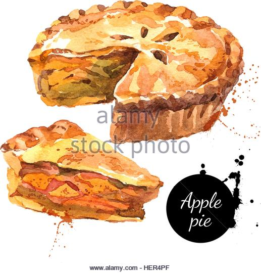 517x540 Piece Cake Hand Drawing Pie Isolated Stock Photos Amp Piece Cake