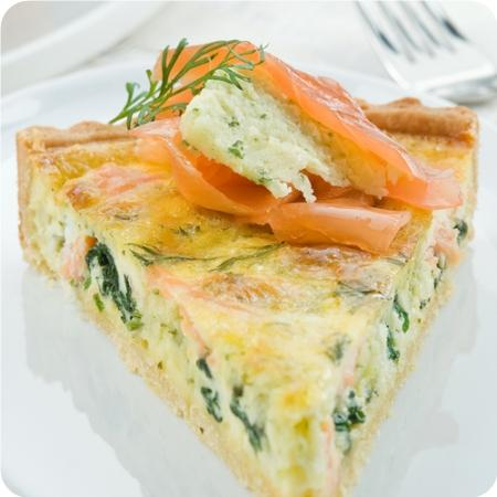 450x450 Salmon And Spinach Quiche A French Delicacy Becoming Madame
