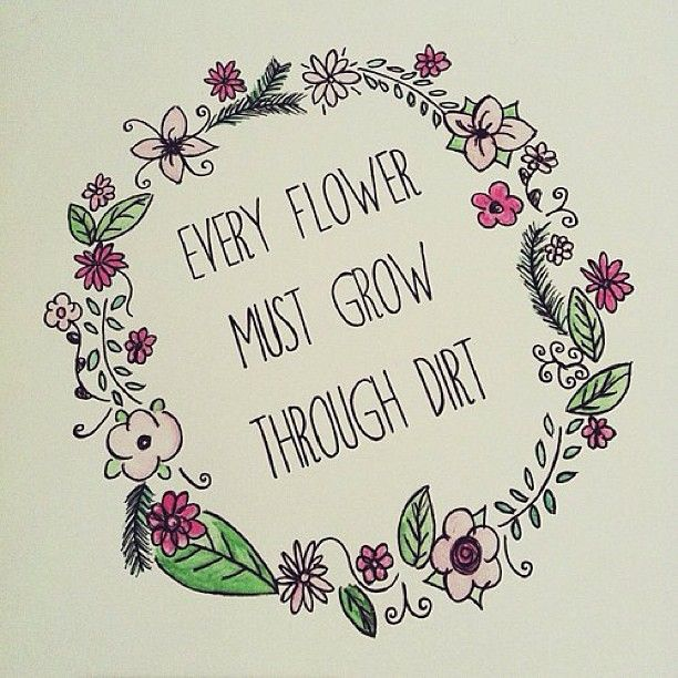 612x612 Flower Background Tumblr With Quotes
