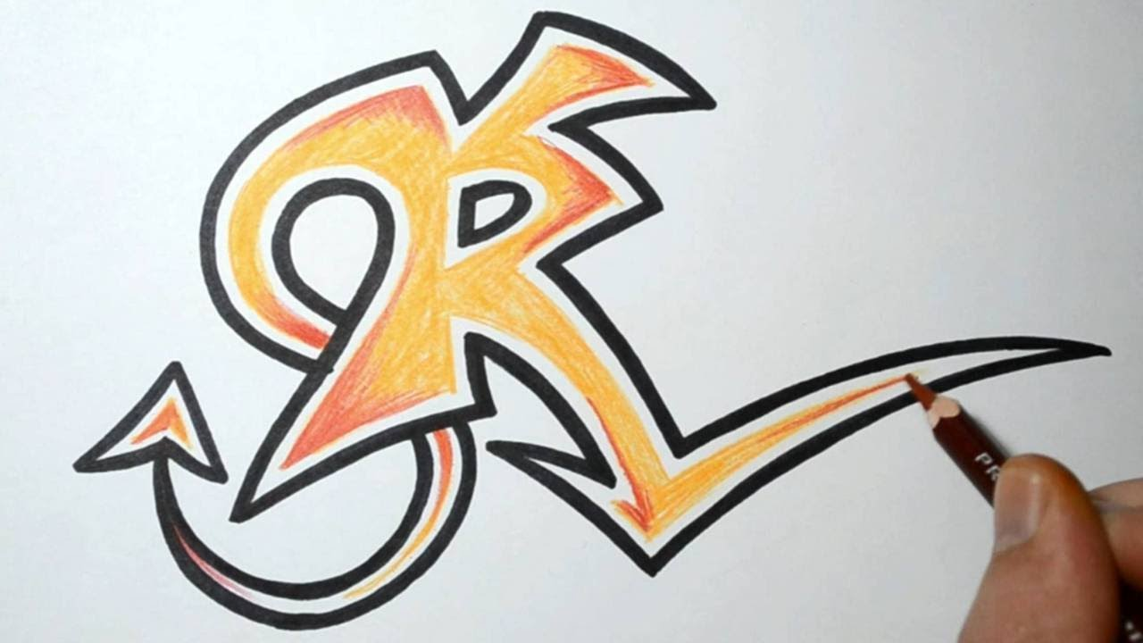 1280x720 How To Draw Wild Graffiti Letters