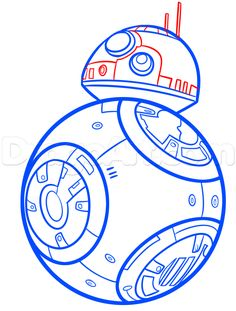 236x311 Easy To Draw Star Wars Characters How To Draw R2 D2 Easy Step 5