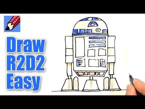 480x360 How To Draw R2d2 Real Easy