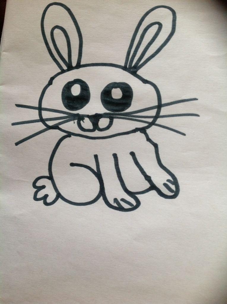 765x1024 How To Draw A Cute Cartoon Bunny 6 Steps
