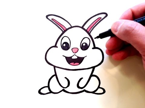 480x360 How To Draw A Cute Bunny Rabbit