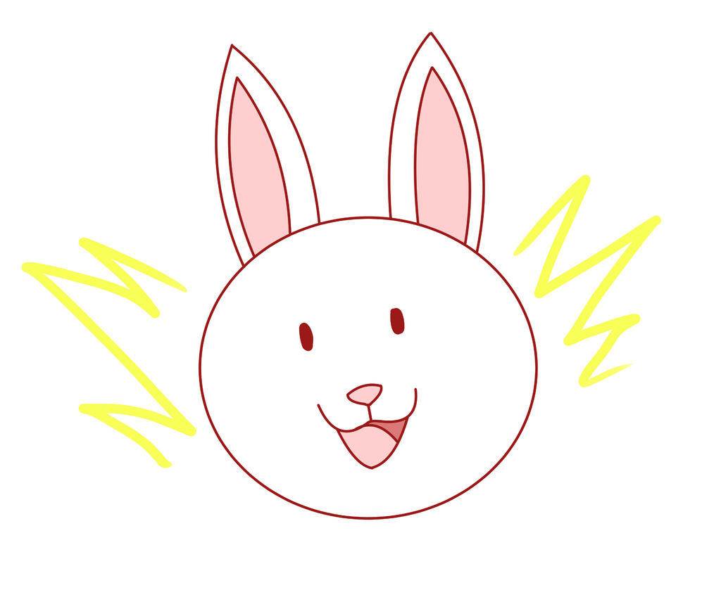 1024x849 How To Draw A Rabbit (For Kids!)