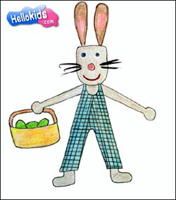 250x285 How To Draw Easter Rabbit Kinder Holidays Kid, How