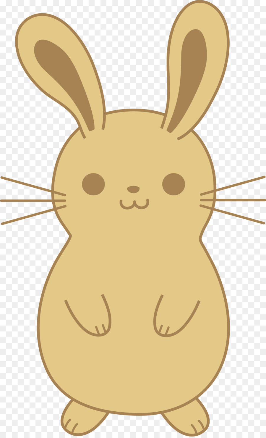 900x1480 Easter Bunny Rabbit Cuteness Drawing Clip Art