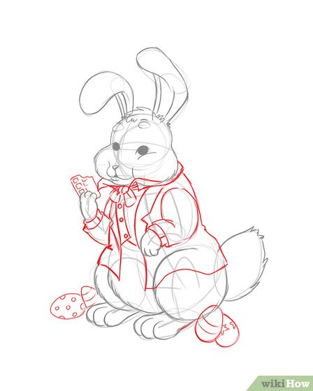 448x560 3 Ways To Draw The Easter Bunny