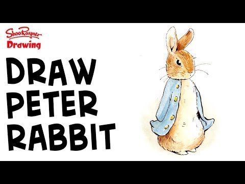 480x360 How To Draw Flopsy Bunnies Beatrix Potter Shoo Rayner Author