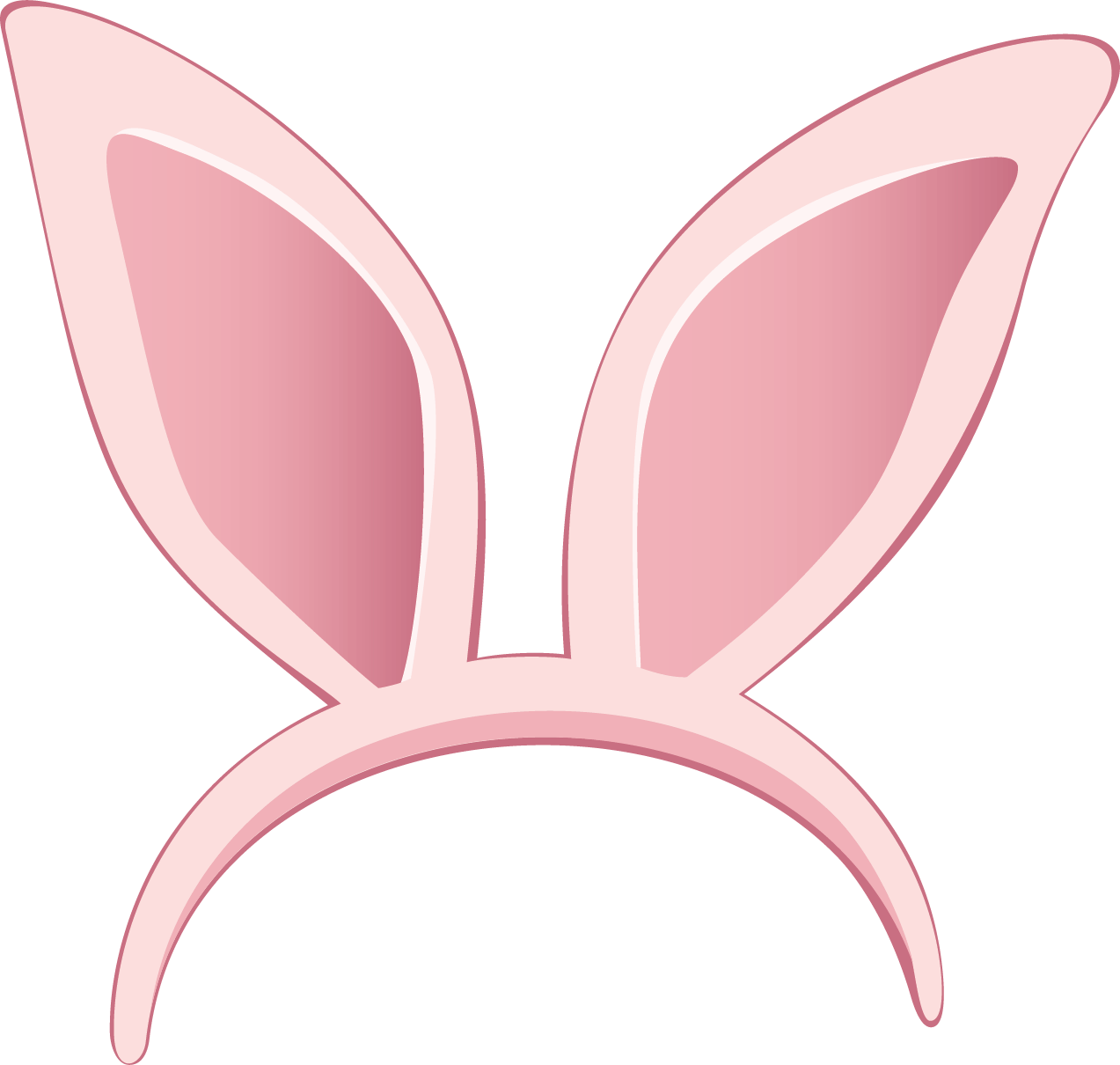 1273x1210 Bunny Ears Transparent Png