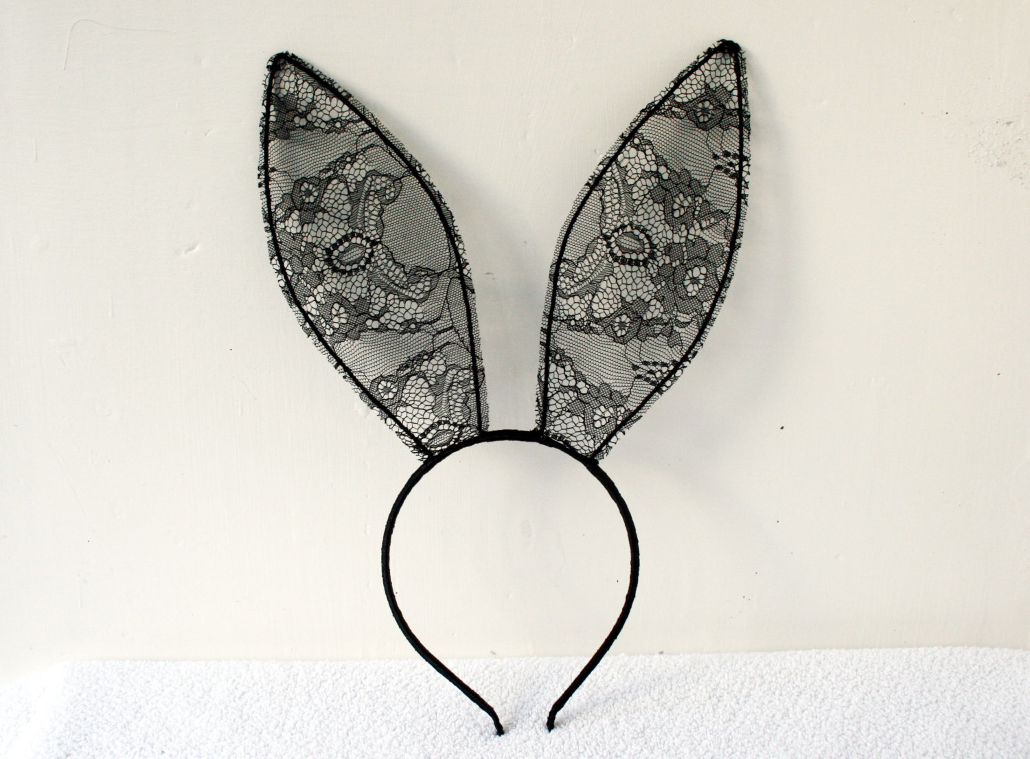 1500x1105 Lace Bunny Ears 20 Cm Headband Made To Order
