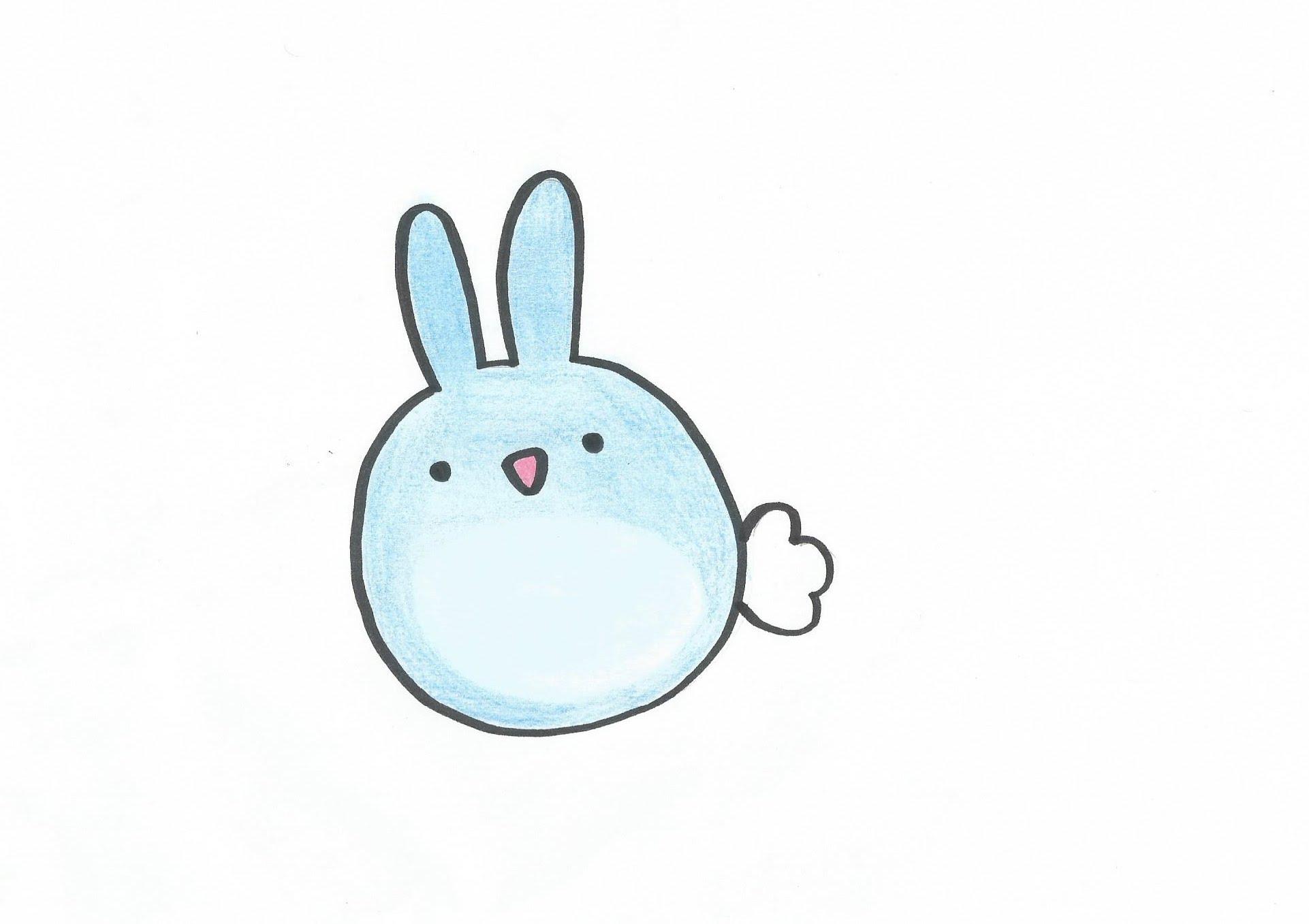 1922x1357 Cute Bunny Drawings How To Draw A Cartoon Bunny Rabbit Easy