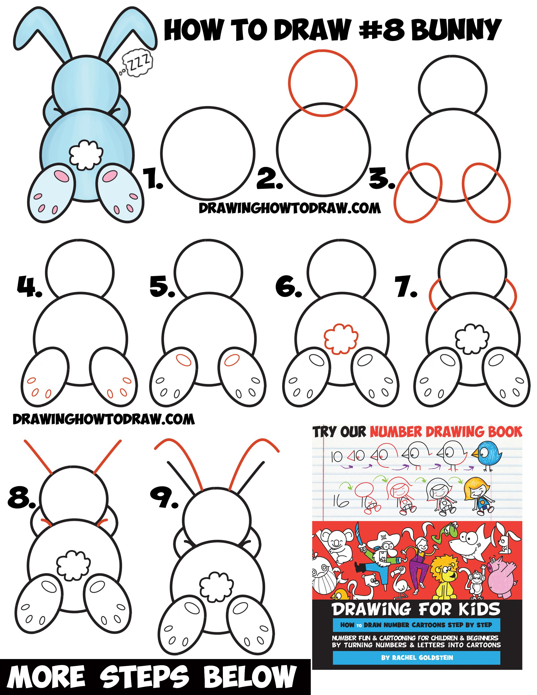 2400x3107 How To Draw A Cute Cartoon Sleeping Bunny Rabbit