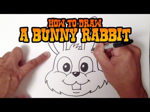 480x360 How To Draw A Cute Bunny Rabbit Step By Step For Beginners