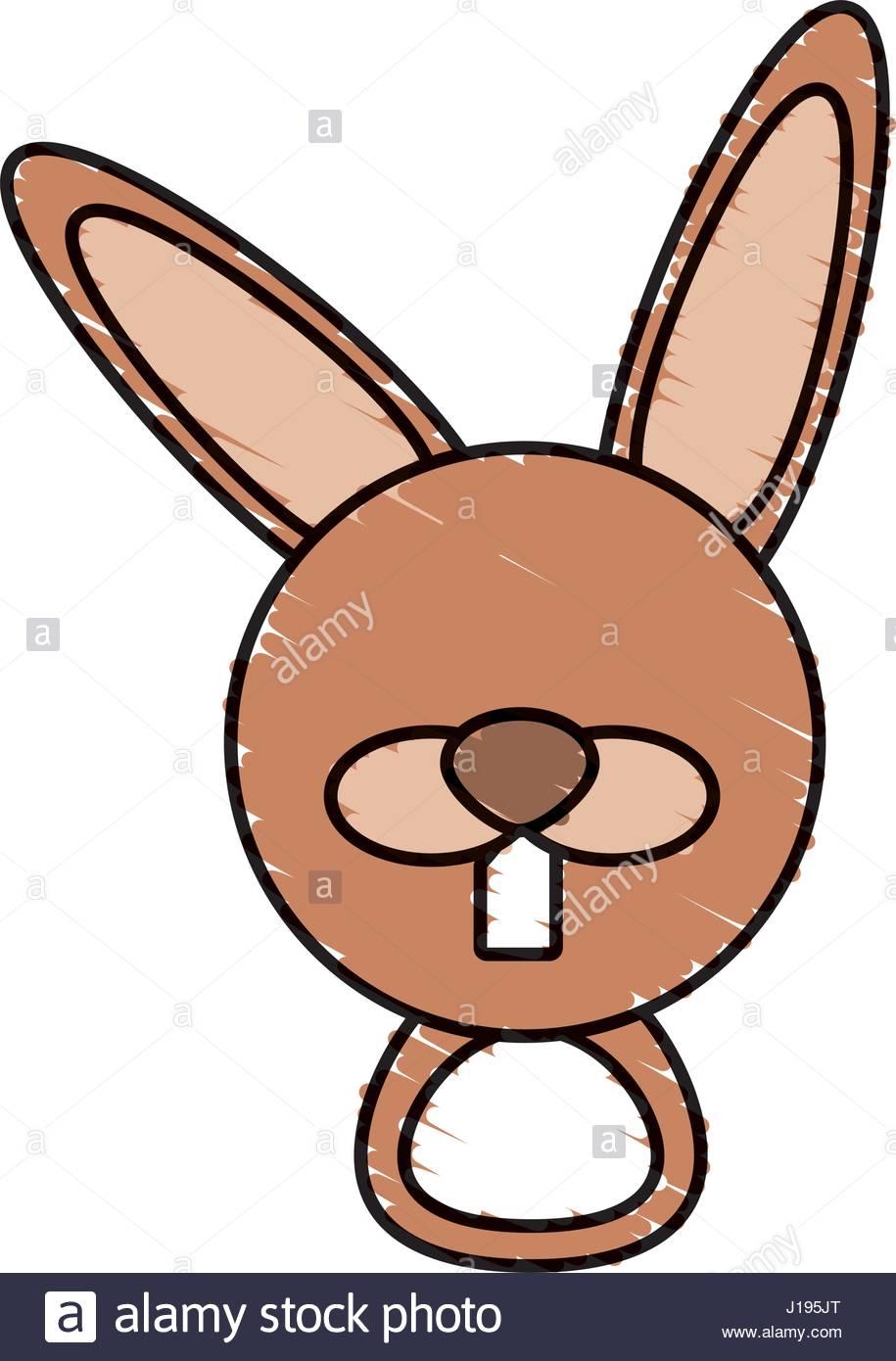 915x1390 Drawing Rabbit Face Animal Stock Vector Art Amp Illustration, Vector