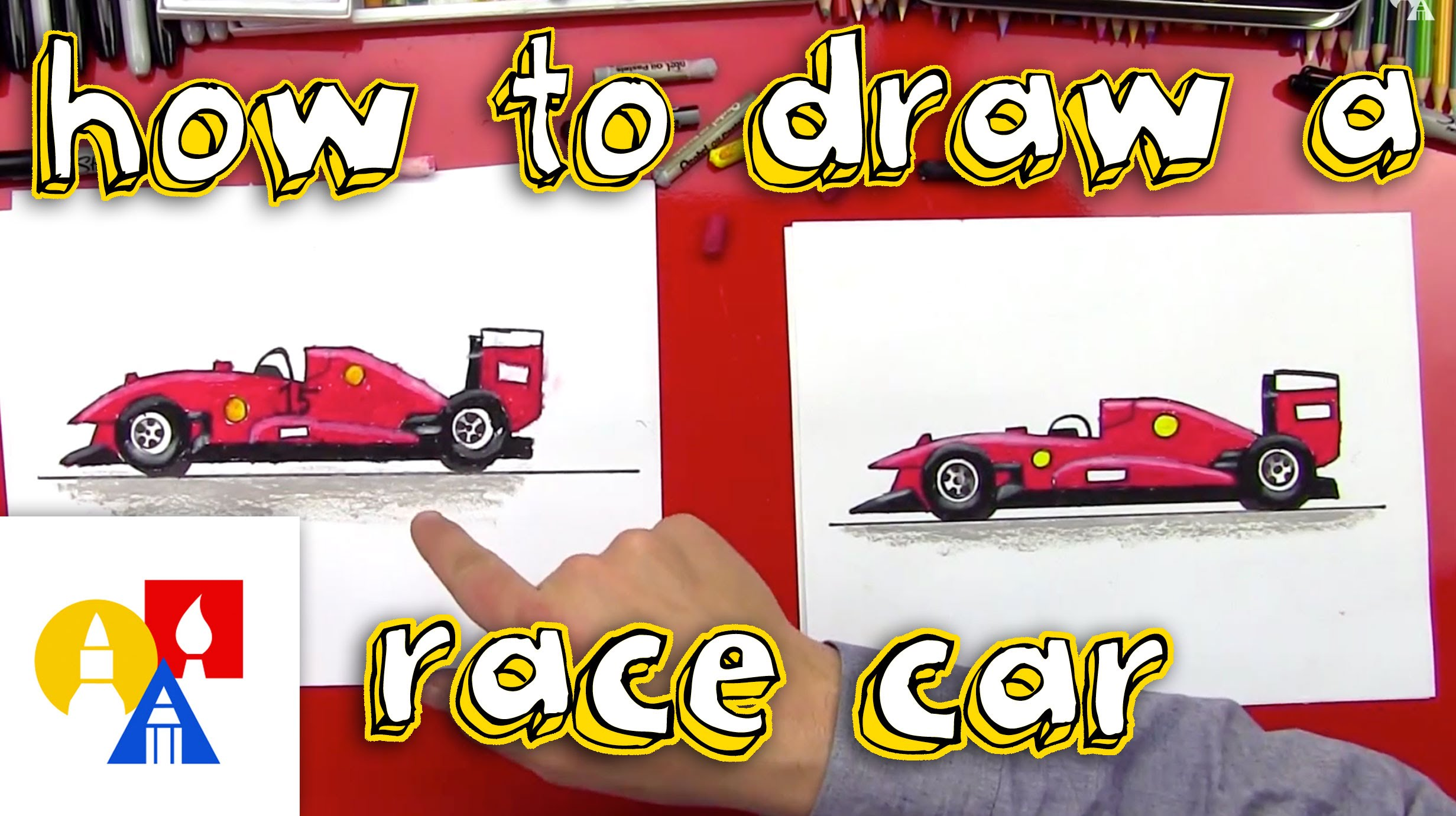 2463x1381 How To Draw A Race Car