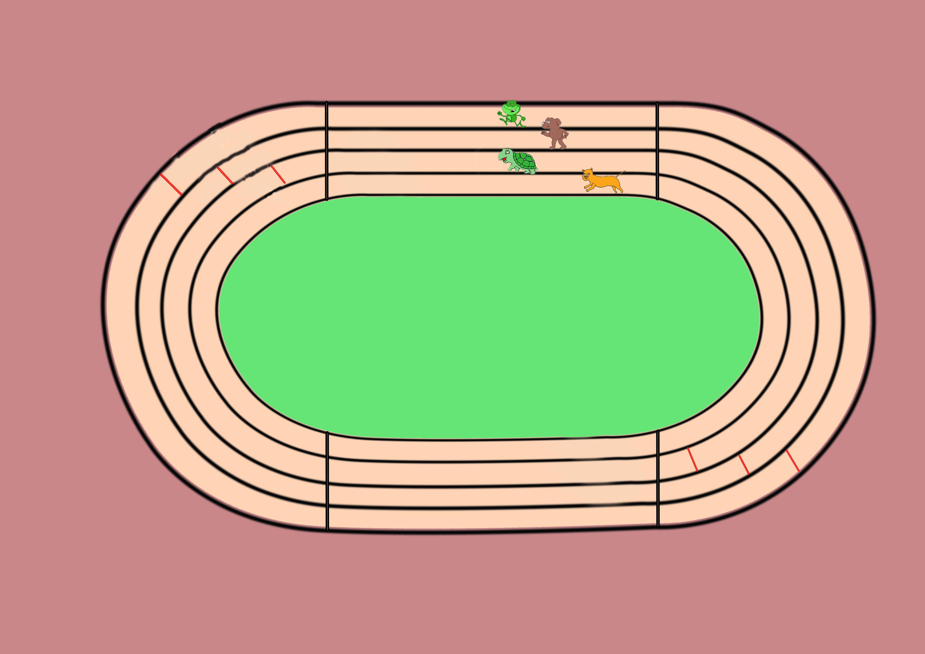 3508x2480 400m Race Track (Environment) Iqbal Ali