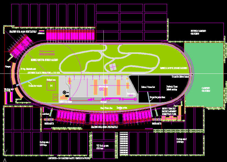 753x536 Cad Drawing Racetrack Nascar Track