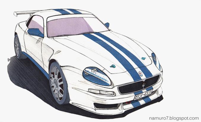 678x411 Draw] 2003 Maserati Trofeo. Racing Car Namuro7 Blog