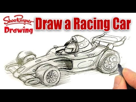 480x360 How To Draw A Formula One Racing Car Shoo Rayner Author