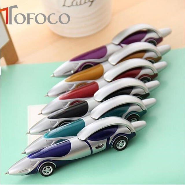 640x639 Tofoco Racing Car Shape Drawing Toys Ballpoint Pen Child Kids Toy