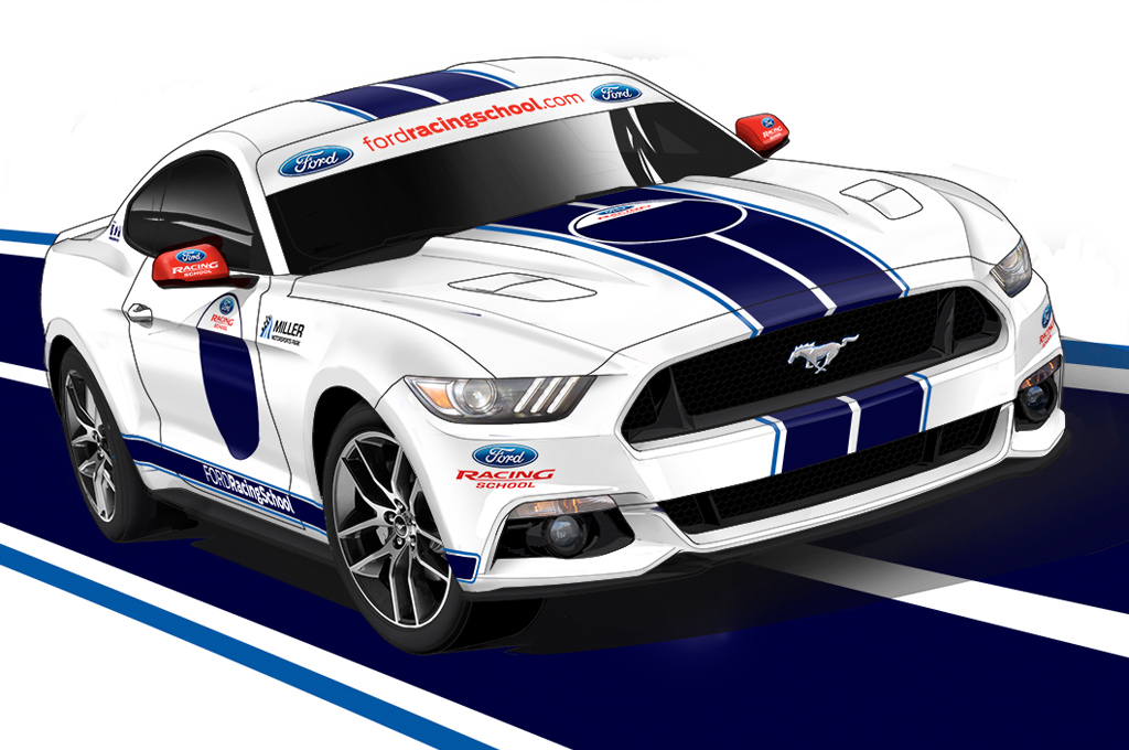 1024x680 What If Ford Mustang Gt350 Gte Race Car