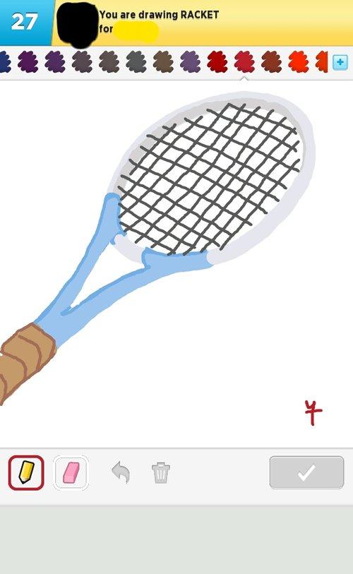 500x813 Racket Drawings
