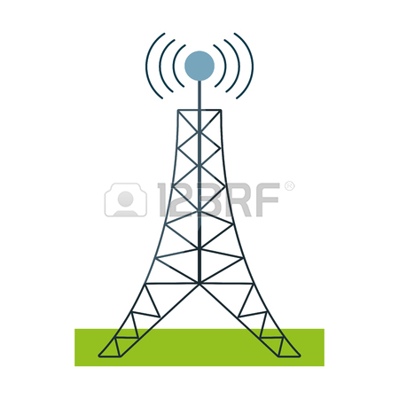 Radio Tower Drawing at GetDrawings com | Free for personal