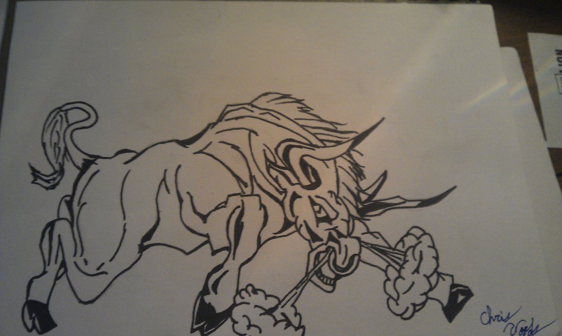 1155x691 The Raging Bull By Chrisw12355