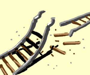 300x250 Broken Railroad Tracks