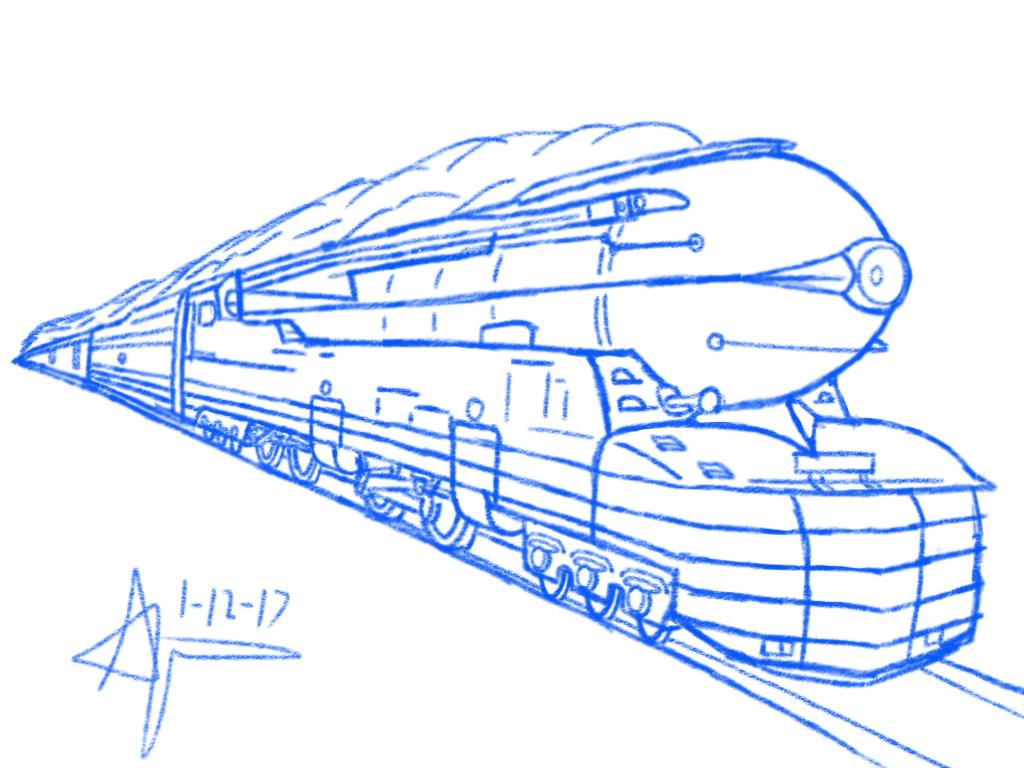 1024x768 Pennsylvania Railroad S1
