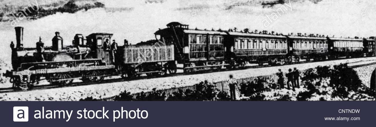 1300x440 Transport Transportation, Railway, Orient Express, Drawing, 1883