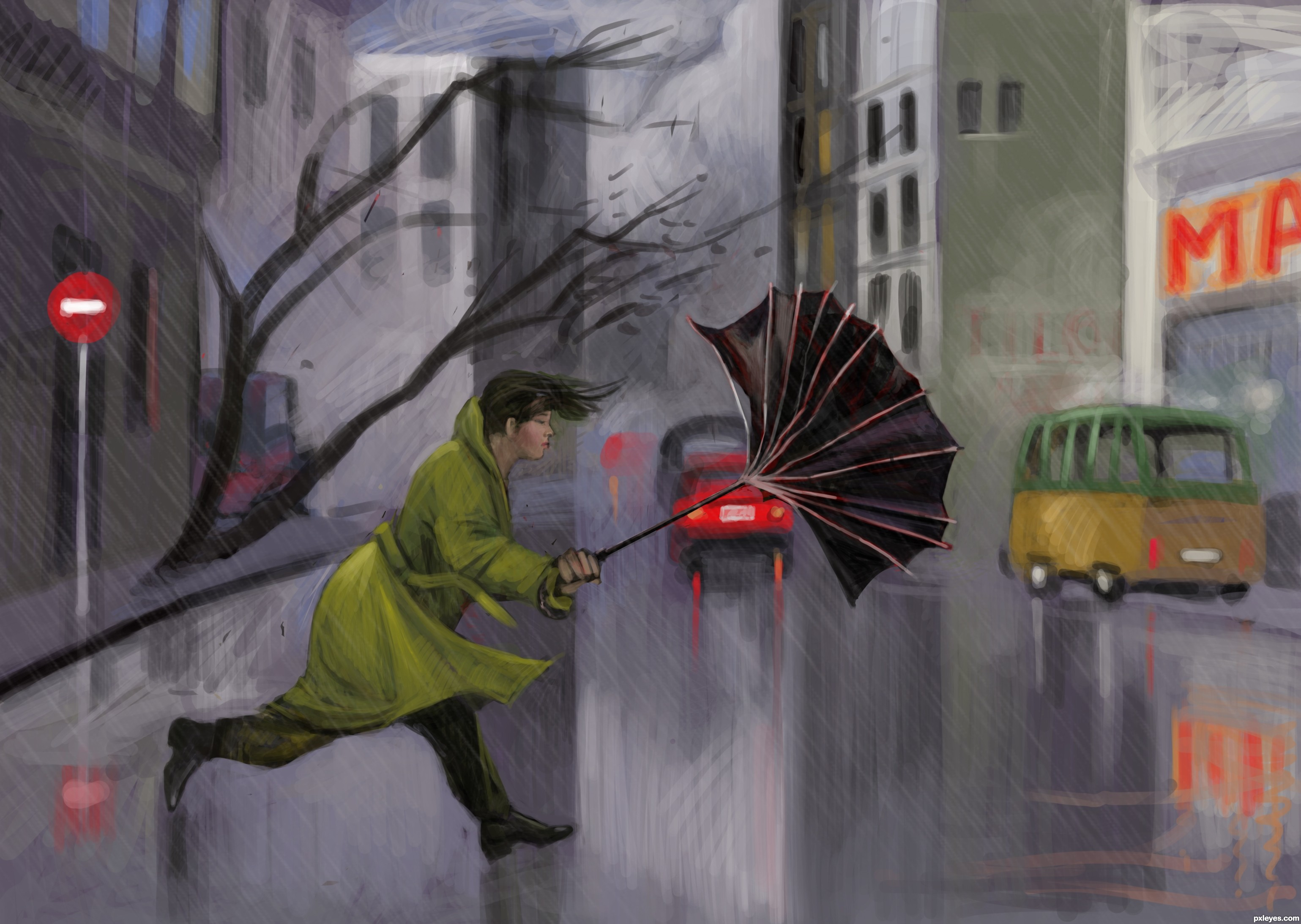 Rain Drawing Pictures At Getdrawings Com Free For Personal Use