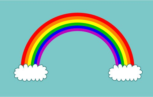 rainbow cartoon drawing at getdrawings com free for personal use