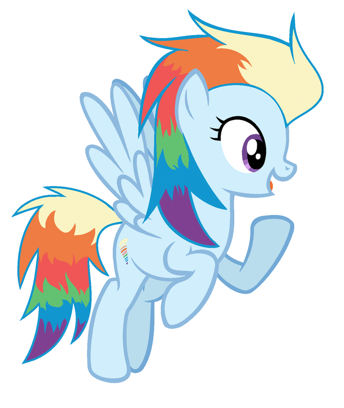 670x793 4 ways to draw rainbow dash