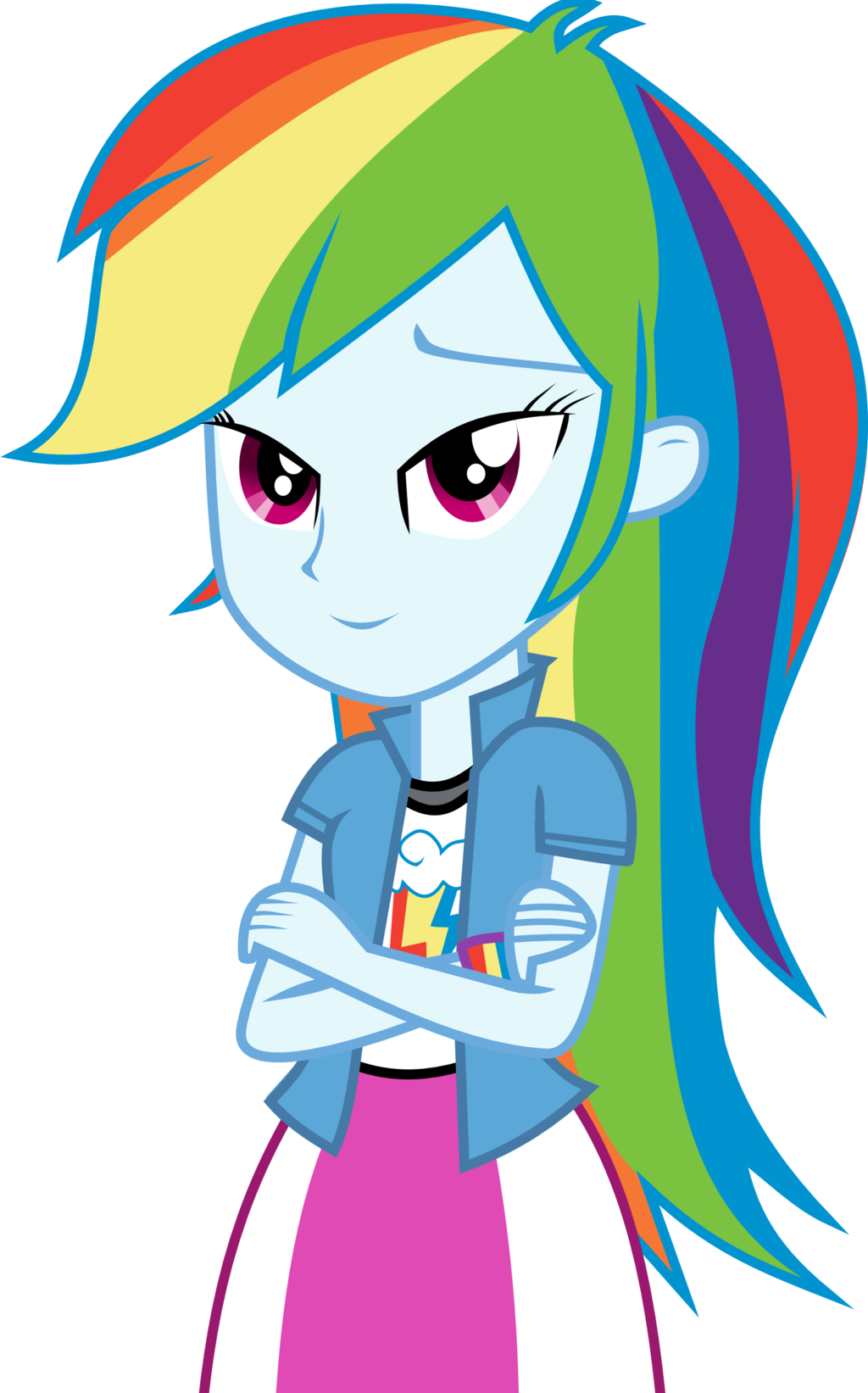 Rainbow Dash Equestria Girl Drawing at GetDrawings.com | Free for ...