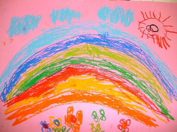 600x450 Image Result For Rainbow Art Children Color Theory