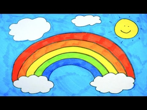 480x360 Speed Drawing Rainbow Dash's Colorful Rainbow For Kids