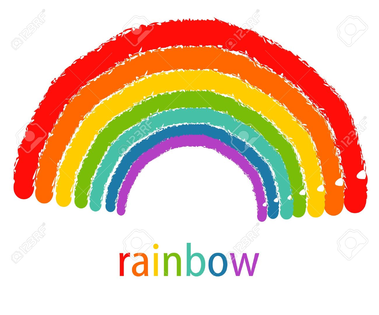 Rainbow Drawing Images At GetDrawings.com